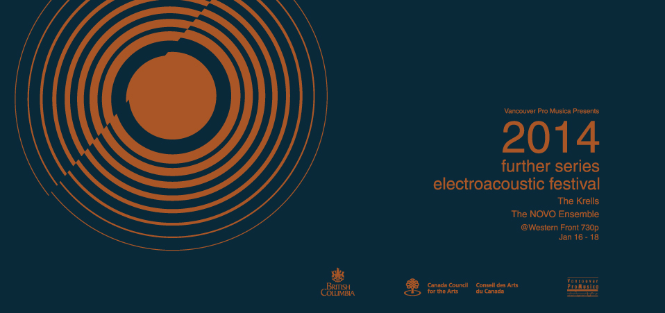 logo for Vancouver Pro Musica's electroacoustic festival