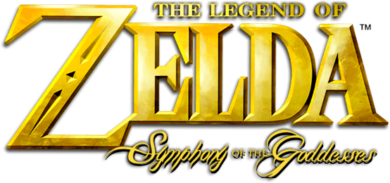 Legend of Zelda symphony of the goddesses logo