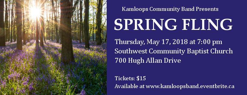 Kamloops Community Band presents Spring Fling