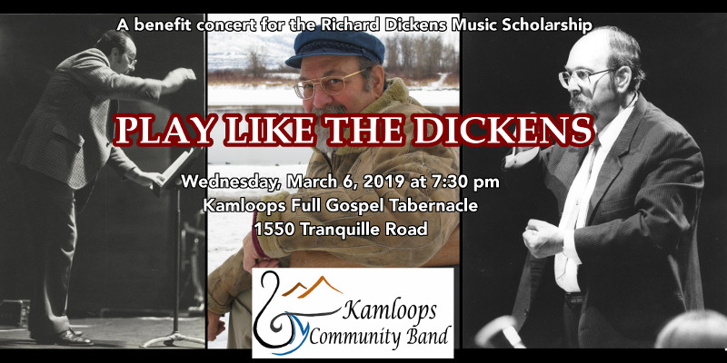 "kamloops community band presents ""play like the dickens"""