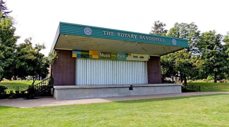 Rotary Bandshell in Riverside Park